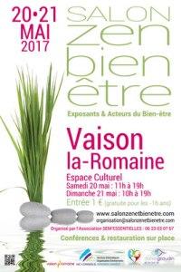 Participation au premier salon Bien être de Vaison-la-Romaine